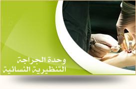 وحدة الجراحة التنظيرية النسائية